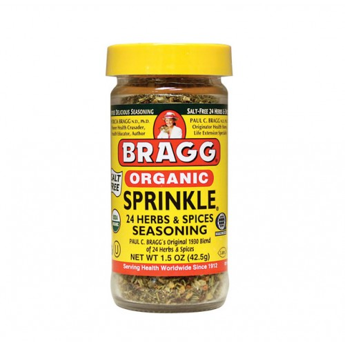 BRAGG SPRINKLE ALL NATURAL HERB & SPICE SEASONING - 42.5g