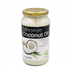 COPURA EXTRA VIRGIN ORGANIC COCONUT OIL - 1L