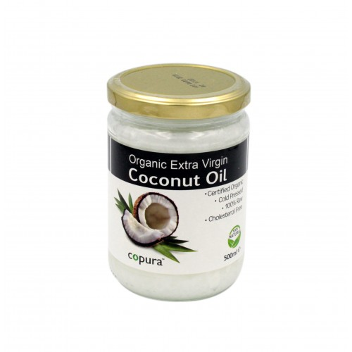 Copura Extra Virgin Organic Coconut Oil 500ml