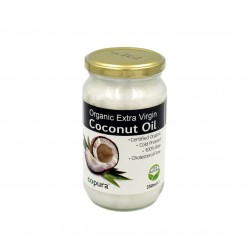 COPURA EXTRA VIRGIN ORGANIC COCONUT OIL - 350ML