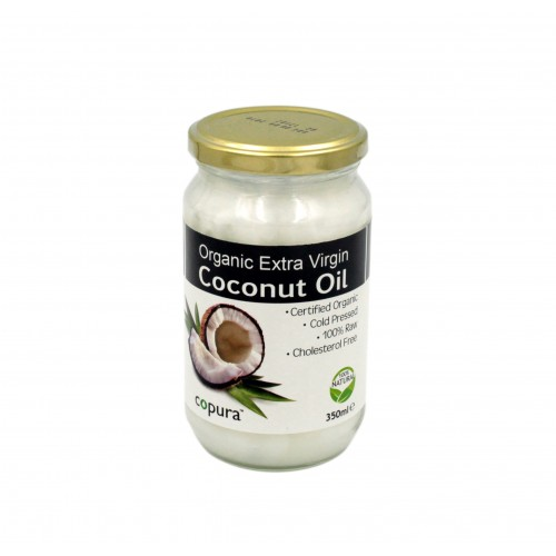 Copura Extra Virgin Organic Coconut Oil 350ml