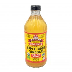 BRAGG ORGANIC APPLE CIDER VINEGAR - 16 OZ (473ML)