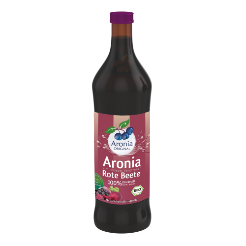 ARONIA ORIGINAL 100% PURE ORGANIC ARONIA AND FERMENTED BEETROOT JUICE 700ML
