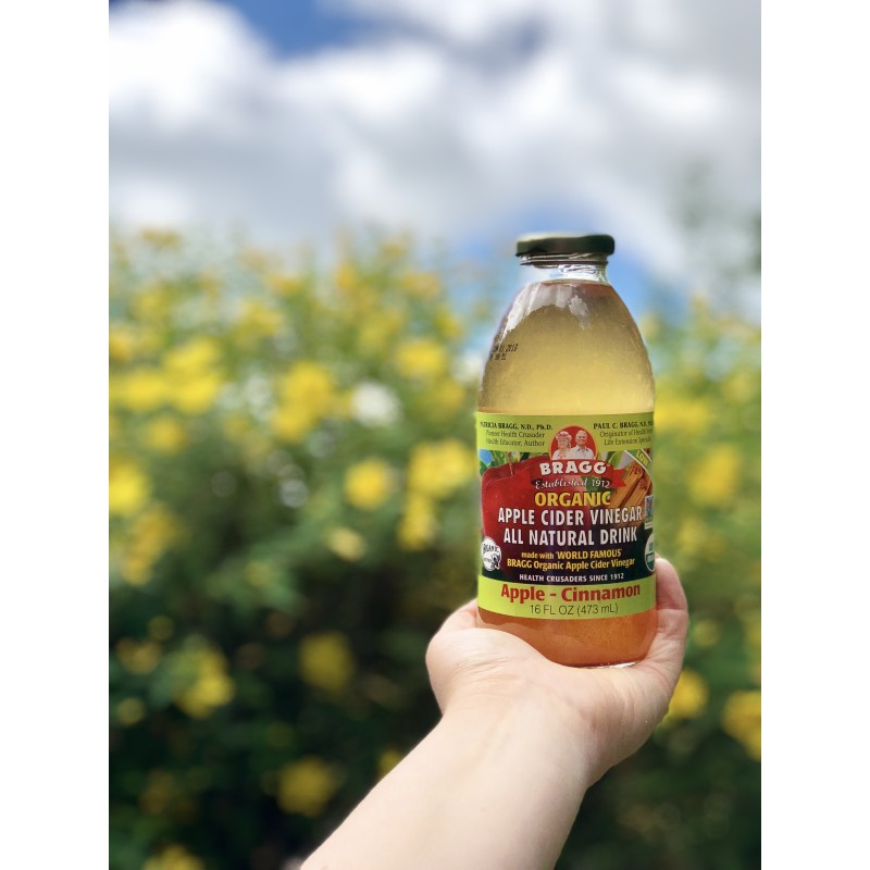Bragg Cinnamon Apple Cider Vinegar Drink 473ml | Omninatural