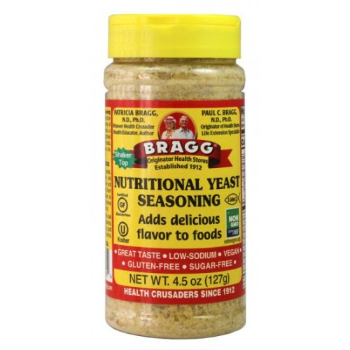 BRAGG PREMIUM NUTRITIONAL YEAST SEASONING - 127G