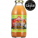 BRAGG ORGANIC APPLE CIDER VINEGAR DRINK - APPLE CINNAMON (CASE OF 12)