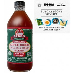 BRAGG ORGANIC APPLE CIDER VINEGAR HONEY BLEND 473ML