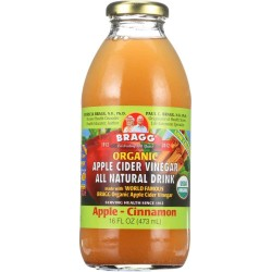 BRAGG ORGANIC APPLE CIDER VINEGAR CINNAMON DRINK - 473ml
