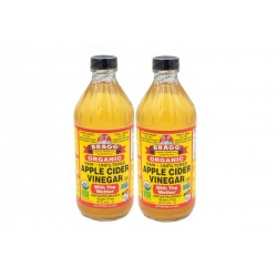BRAGG ORGANIC APPLE CIDER VINEGAR DOUBLE PACK (2X 473ML)