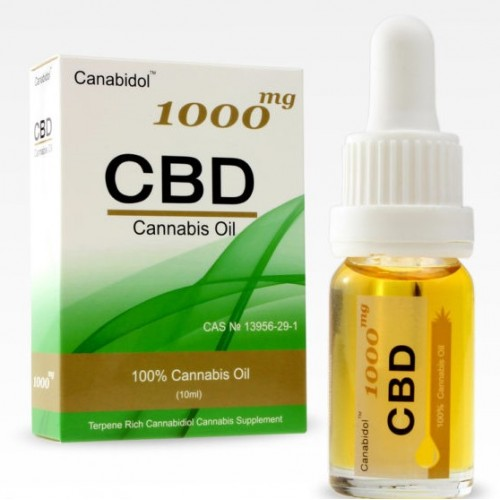 CANABIDOL CBD OIL 1000MG (10ML DROPPER BOTTLE)