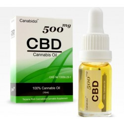 CANABIDOL CBD OIL 500MG (10ML DROPPER BOTTLE)