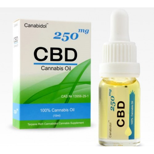 CANABIDOL CBD OIL 250MG (10ML DROPPER BOTTLE)