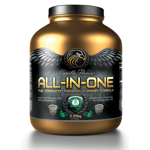 GOLD TECH NUTRITION ALL-IN-ONE PROTEIN PLUS VANILLA 2.25KG - CLEARANCE