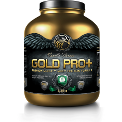 Gold Tech Nutrition Gold Pro Plus Vanilla (2.25kg) - CLEARANCE