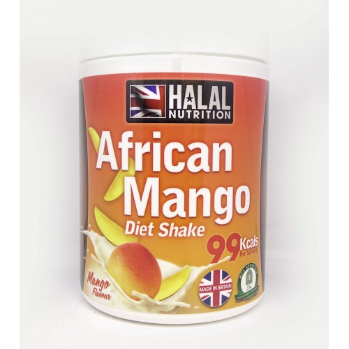 Halal Nutrition - 99 Calorie Shakes (African Mango) - 400g