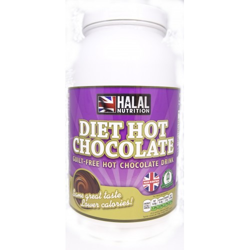 Halal Nutrition - Diet Hot Chocolate (Chocolate) - 1kg