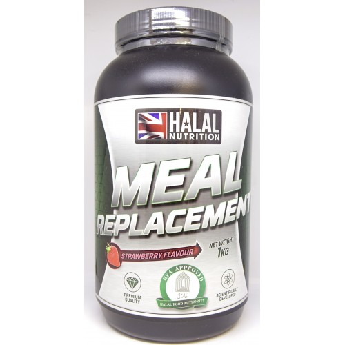 Halal Nutrition - Sport Meal Replacement Powder (Strawberry) - 1kg