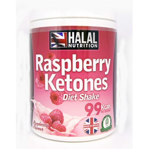 Halal Nutrition - 99 Calorie Shakes     (Raspberry)    -    400g