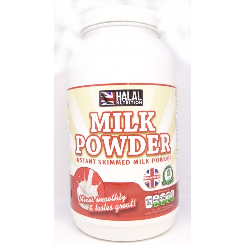Halal Nutrition - Instant Skimmed Milk Powder - 1kg
