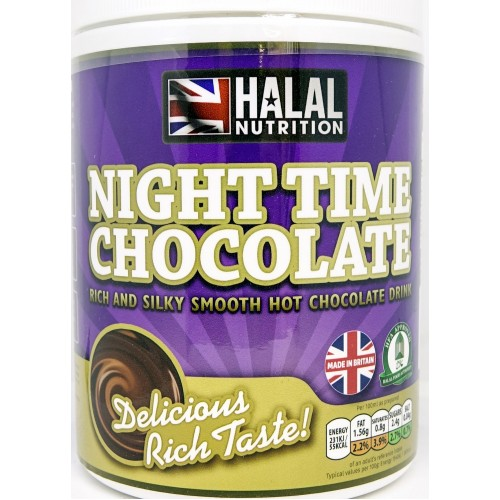 Halal Nutrition - Night Time Chocolate Drink 400g