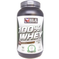 Halal Nutrition - 100% Whey Protein (Chocolate) - 1kg