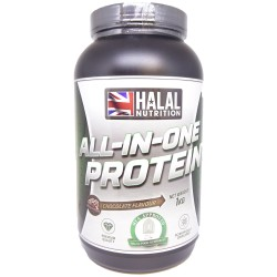 Halal Nutrition - All-in-One Protein (Chocolate) - 1kg