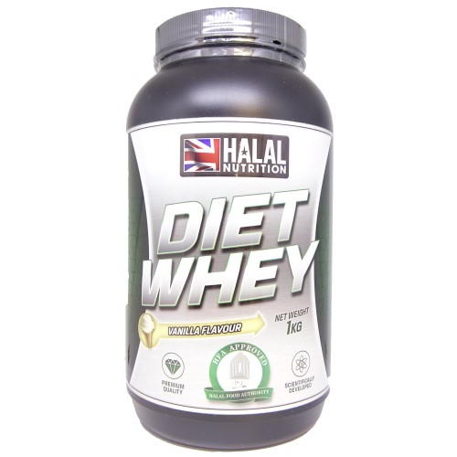 Halal Nutrition - Diet Whey (Vanilla) - 1kg - CLEARANCE