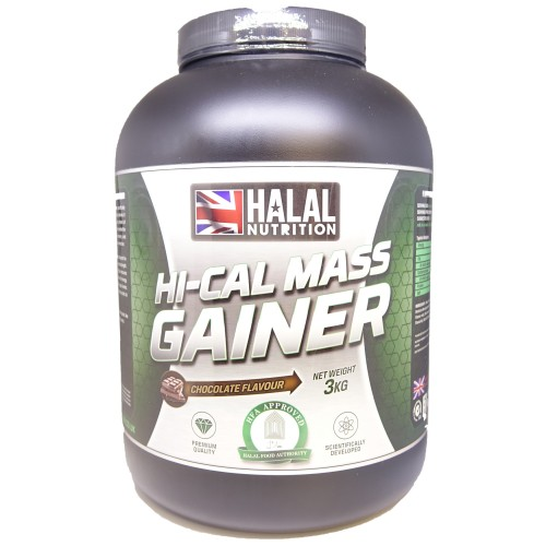 Halal Nutrition - Hi-Calorie Mass Gainer (Chocolate) - 3kg