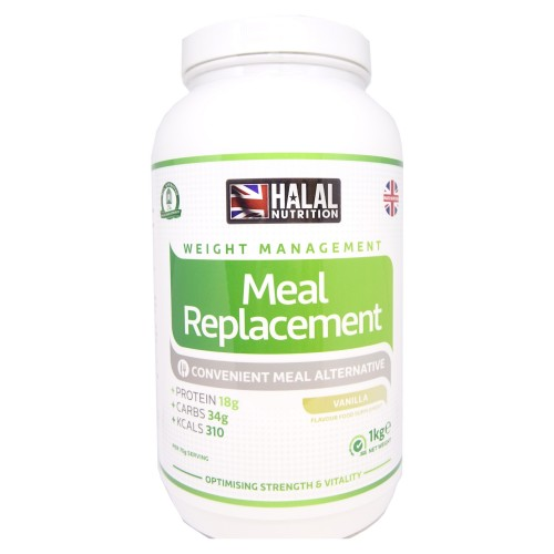 Halal Nutrition - Meal Replacement (Chocolate) - 1kg