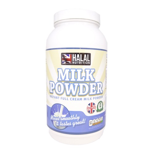 Halal Nutrition - Instant Full Cream Milk Powder - 1kg - CLEARANCE