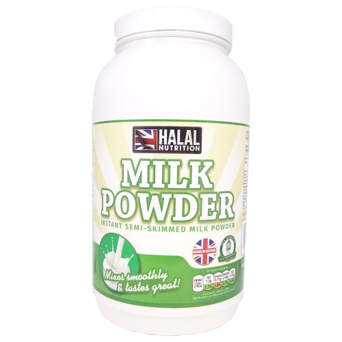 Halal Nutrition - Instant Semi-Skimmed Milk Powder - 1kg - CLEARANCE