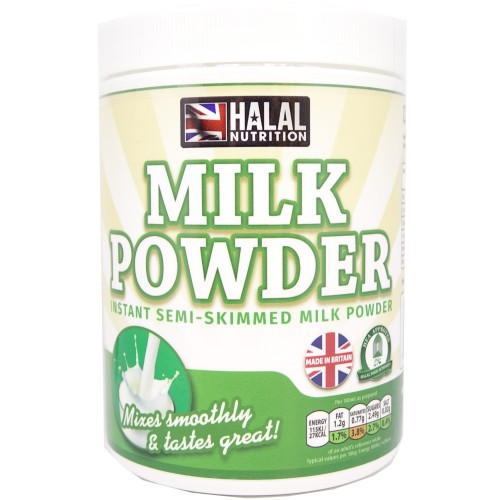 Halal Nutrition - Instant Semi-Skimmed Milk Powder 400g