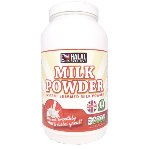 Halal Nutrition - Instant Skimmed Milk Powder - 1kg - CLEARANCE