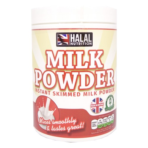 Halal Nutrition - Instant Skimmed Milk Powder 400g