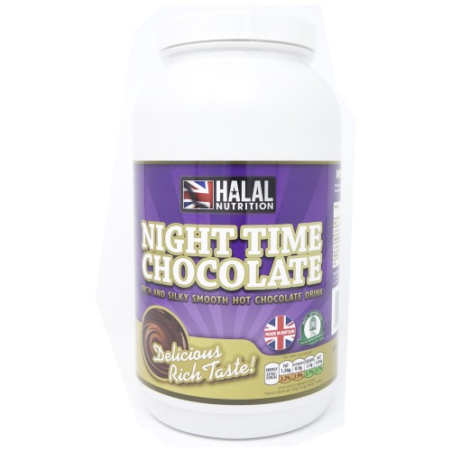 Halal Nutrition - Night Time Chocolate Drink (Chocolate) - 1kg - CLEARANCE