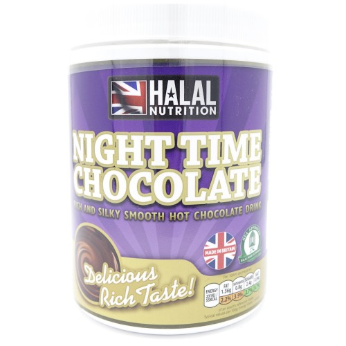 Halal Nutrition - Night Time Chocolate Drink 400g - CLEARANCE