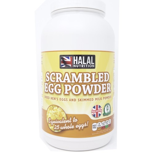 Halal Nutrition - Scrambled Egg Powder - 1kg