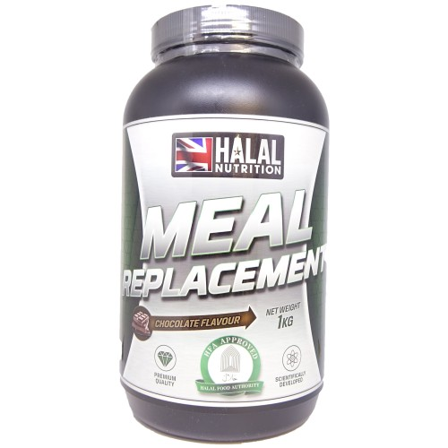 Halal Nutrition - Sport Meal Replacement Powder (Chocolate) - 1kg