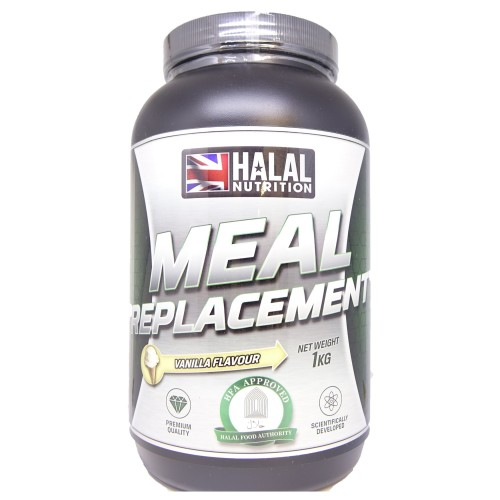 Halal Nutrition - Sport Meal Replacement Powder (Vanilla) - 1kg