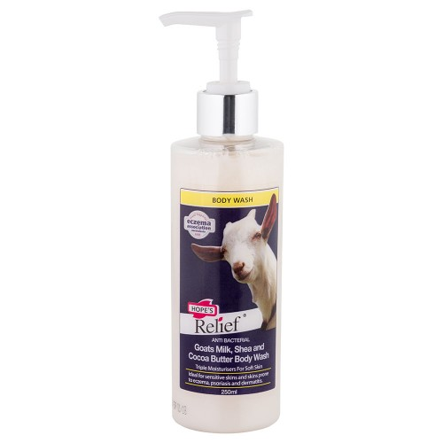 HOPE'S RELIEF GOAT'S MILK BODY WASH 250ML