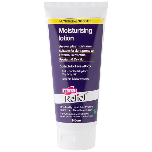 HOPE'S RELIEF MOISTURING LOTION