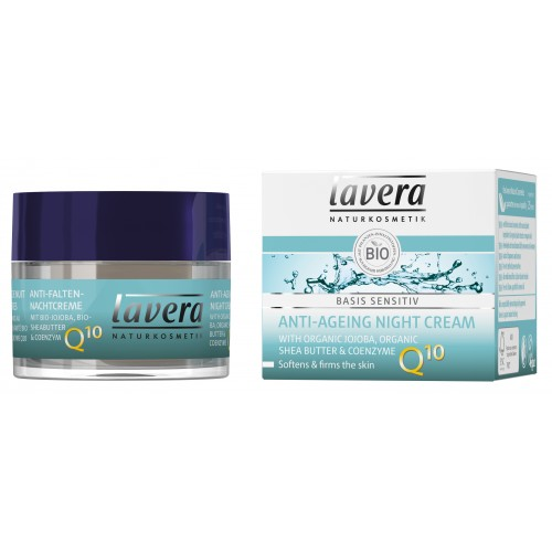 LAVERA BASIS ANTI AGEING NIGHT CREAM Q10  50ml