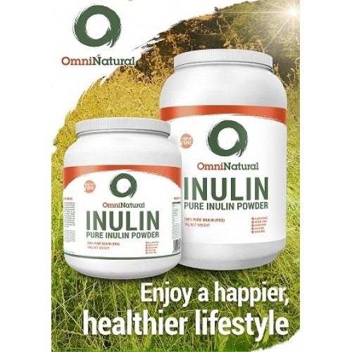 OMNINATURAL PURE INULIN POWDER - 500G