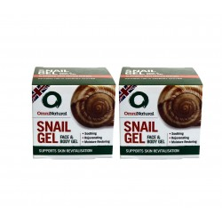 OMNINATURAL SNAIL GEL DOUBLE PACK (2 X 50ML)