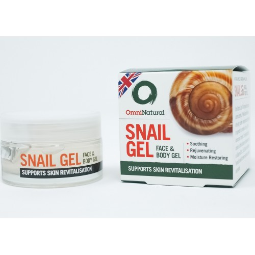 Omninatural Natural Snail Gel 50ml