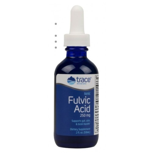 Trace Minerals Ionic Fulvic Acid 250mg 2oz. (59ml)