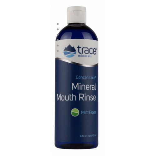 Trace Minerals ConcenTrace® Mineral Mouth Rinse 16oz. 473ml