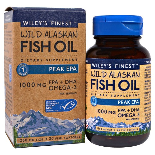 WILEY'S FINEST PEAK EPA 1000MG 30SOFTGELS