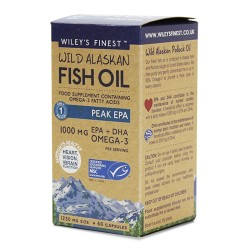 WILEY'S FINEST  PEAK EPA 1000MG 60SOFTGELS