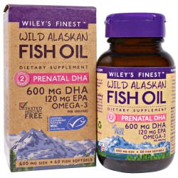 WILEY'S FINEST PRENATAL DHA 60SOFTGELS